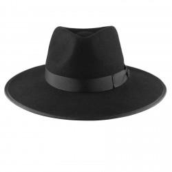 Black Nuba Hat by Raceu Atelier - Unisex Hats