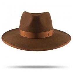 Caramel Nuba Hat by Raceu Atelier - Unisex Hats