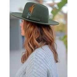 Kakhi Salter Hat - Fedora 100% Wool Felt