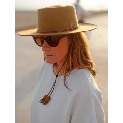 Camel Billy Hat by Raceu Atelier