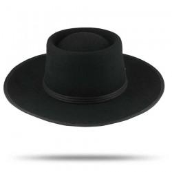 Black Billy Hat by Raceu Atelier - Cowboy Hats