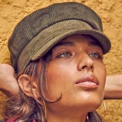 Fisherman cap corduroy - Escala Olive Color