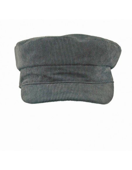 Corduroy Fisherman's Cap - Escala Cap Dark Grey