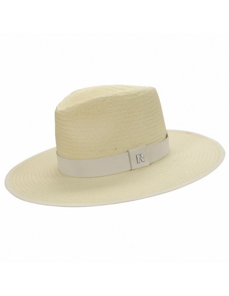 Straw Hat Florida White - Summer Fedora Style