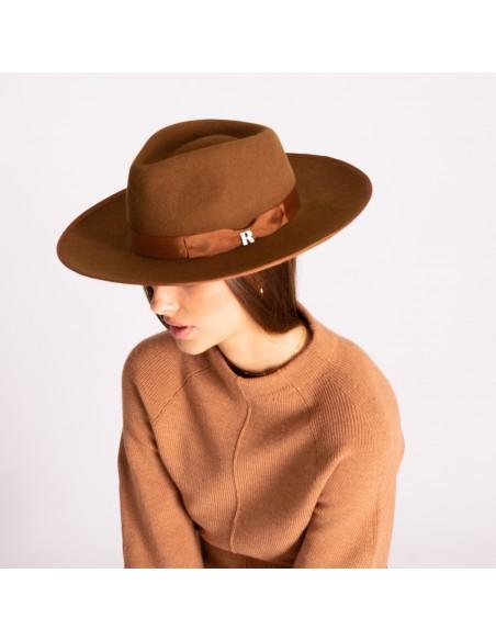 Caramel Nuba Hat by Raceu Atelier - Wool Felt Hats