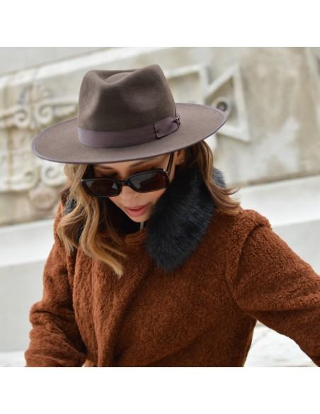 Sombrero Nuba Raceu Atelier - Sombreros de Fieltro de Lana