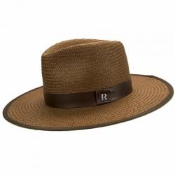 Straw Hat Florida Brown - Fedora Style