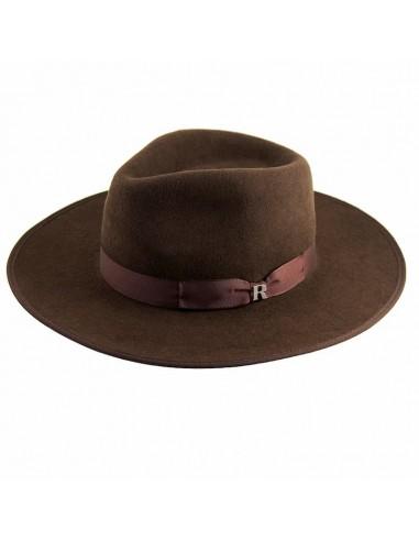 Brown Nuba Hat by Raceu Atelier - Wool Felt Hats