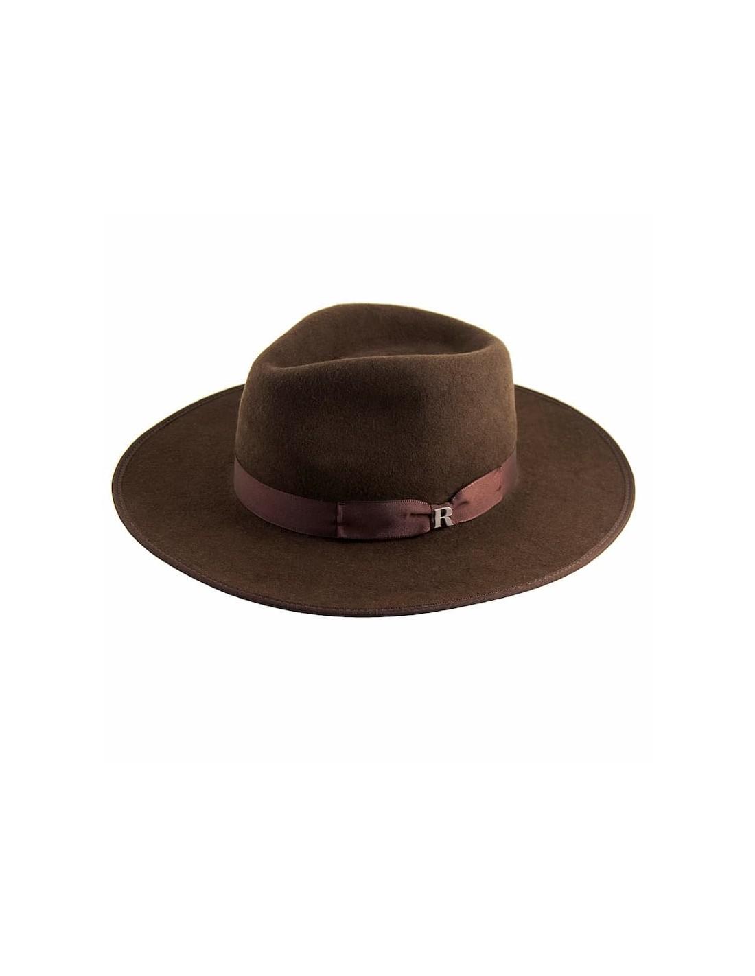 9504345d6d1aed Shop Brown Nuba Hat Wool Felt by Raceu Atelier - Raceu Hats Online