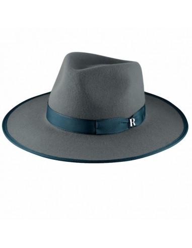 Sombrero Nuba Gris Raceu Atelier - Sombreros de Fieltro de Lana