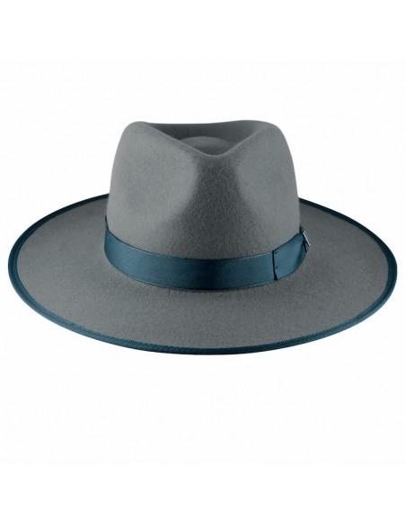 Grey Nuba Hat by Raceu Atelier - Wool Felt Hats