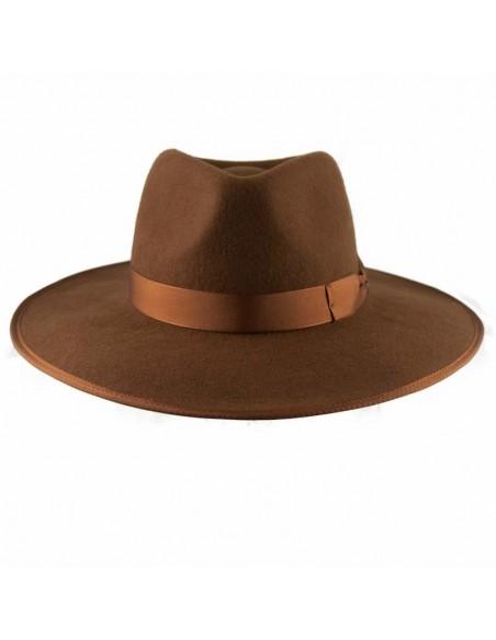 Sombrero Nuba Caramelo Raceu Atelier - Sombreros de Fieltro