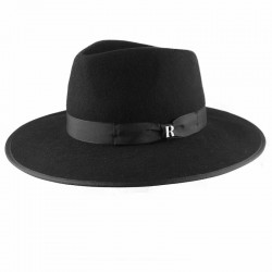 Black Nuba Hat Raceu Atelier - Wool Felt Hats