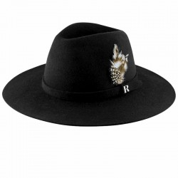 Black Salter Hat by Raceu Atelier