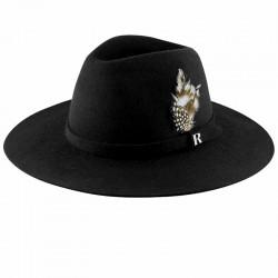 Black Salter Hat by Raceu Atelier