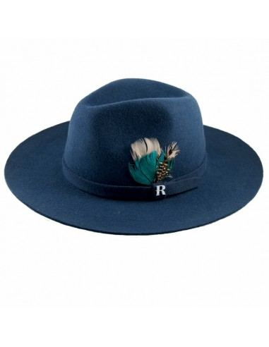 Blue Jeans Salter Hat by Raceu Atelier - Fedora Wool Felt