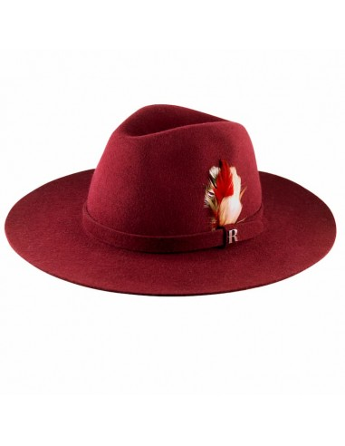 Burgundy Salter Hat by Raceu Atelier