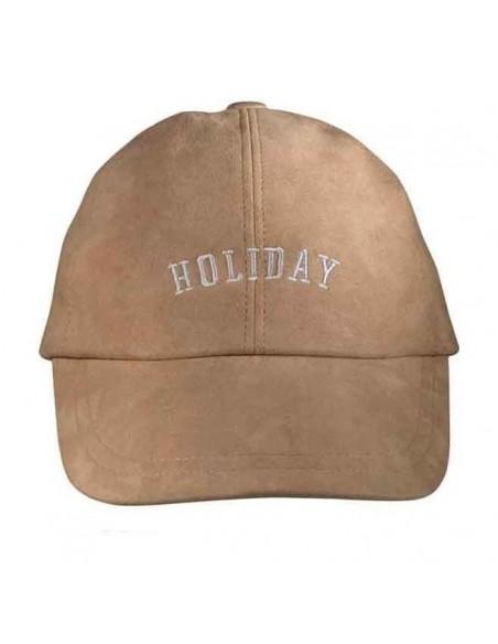 Holiday Beige Cap by Raceu Atelier