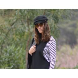 Zara Cap Black
