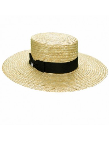 Straw Hat Saint Tropez - Canotier Wide Brim - Summer Hats