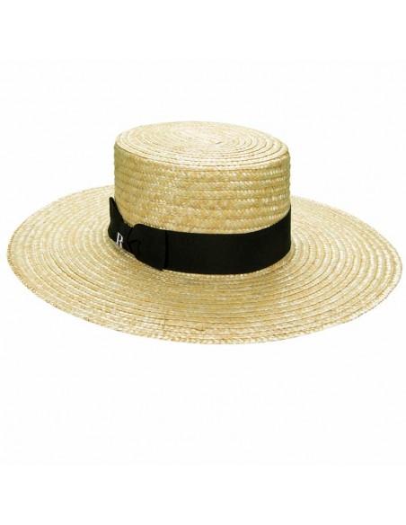 Straw Hat Saint Tropez - Canotier Wide Brim - Summer Hats