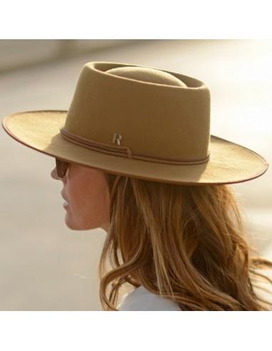 Camel Billy Hat by Raceu Atelier