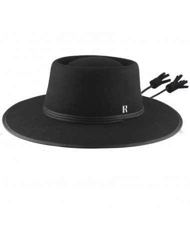 3f009aee1af53 Black Billy Hat by Raceu Atelier - Raceu Hats Online