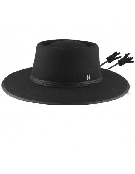 Black Billy Hat by Raceu Atelier
