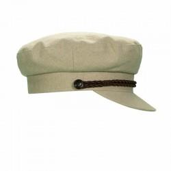 Fisherman Cap Porto 100% Linen - Women's Fisherman Cap
