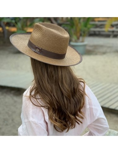 c874e85a6 Straw Hat Florida Brown - Fedora Style