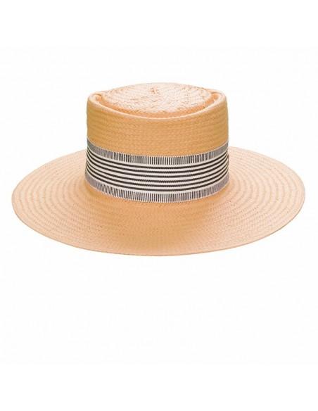 Sombrero Paja de Papel Reciclado Menorca - Sombreros Verano - Ideal Playa