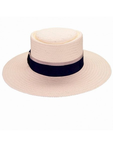 Straw hat acapulco white - Summer Hats for Women