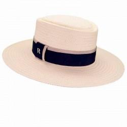 Straw hat acapulco white