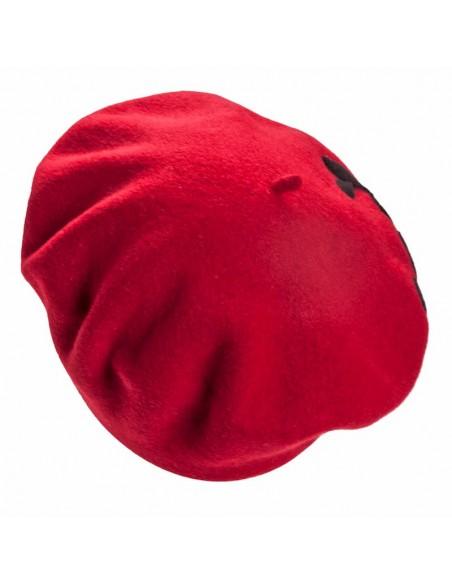 Boina Collen rojo