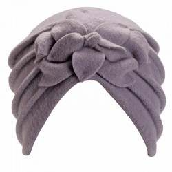 Giorgia Grey Turban