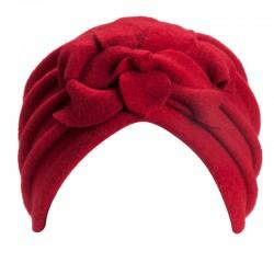 Giorgia Red Turban