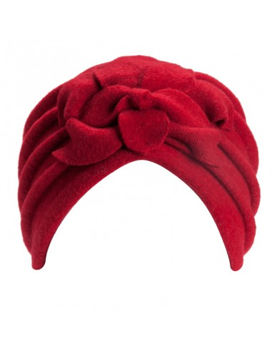 Giorgia Red Turban