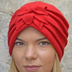 Giorgia Turban red