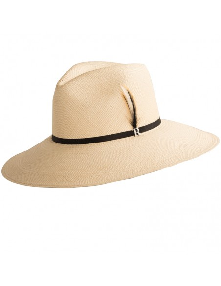 Eva Wide Brim Panama Natural