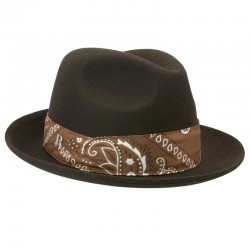Mission Hat Fedora wool felt - man & women
