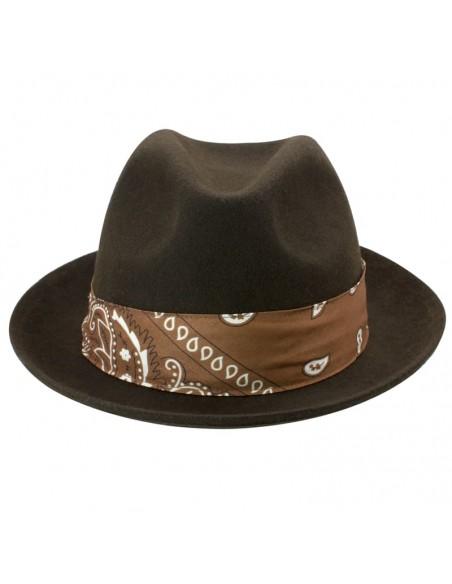 Sombrero Fedora Fieltro de Lana Hombre & Mujer