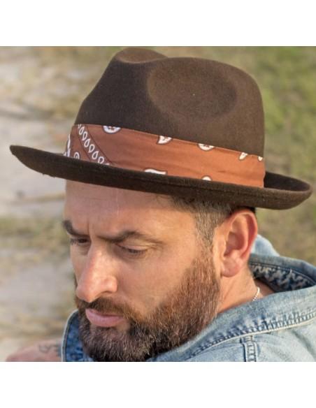 Mission Hat Fedora wool felt - man & women