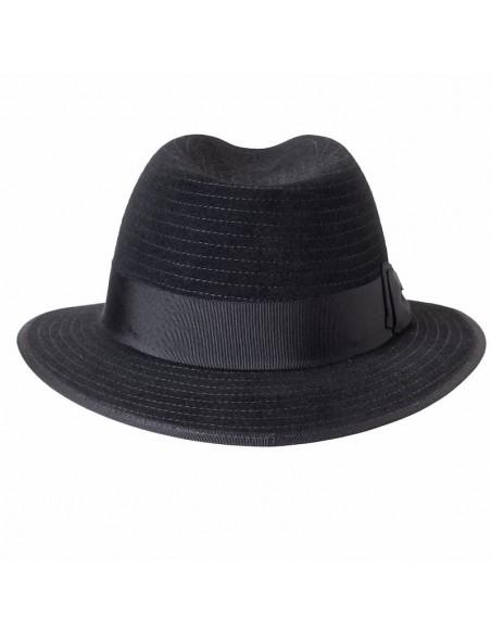 Harlem Hat Black for Women Short Brim