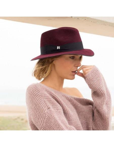 Harlem Burgundy Hat