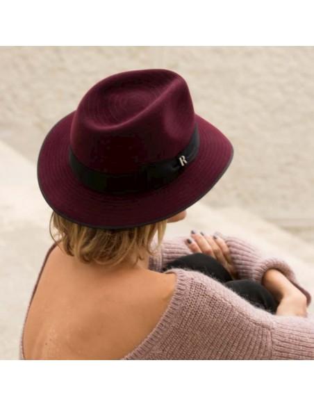 Sombrero Harlem burdeos