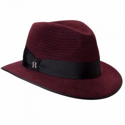 Harlem Burgundy Hat