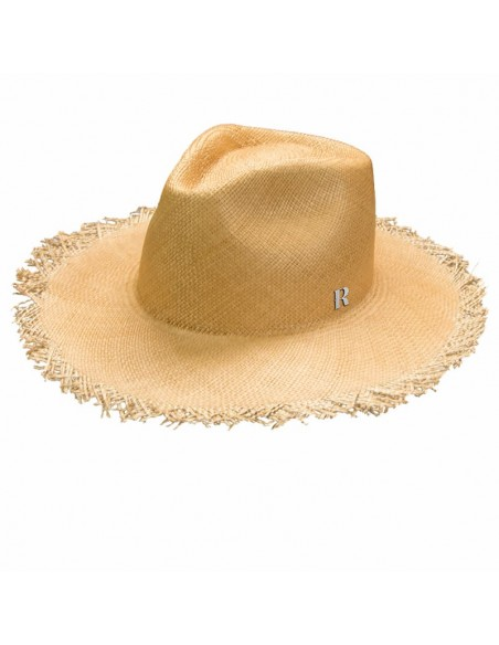 Fringed Panamá hat Grant Hazelnut - Made in Montecristi