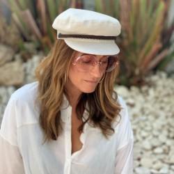 Gorra Mujer Porto de Raceu Atelier - Gorras de Moda - Gorras Marineras
