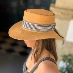 Recycled Paper Straw Hat Menorca