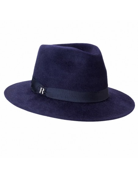 London Fedora Hat Navy